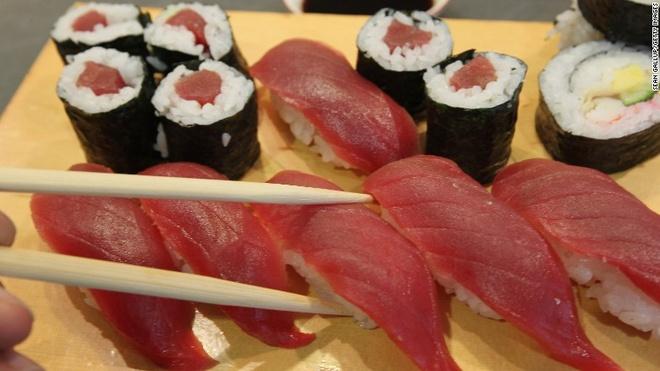 An sushi nhu the nao de thuc su tot cho suc khoe? hinh anh 1
