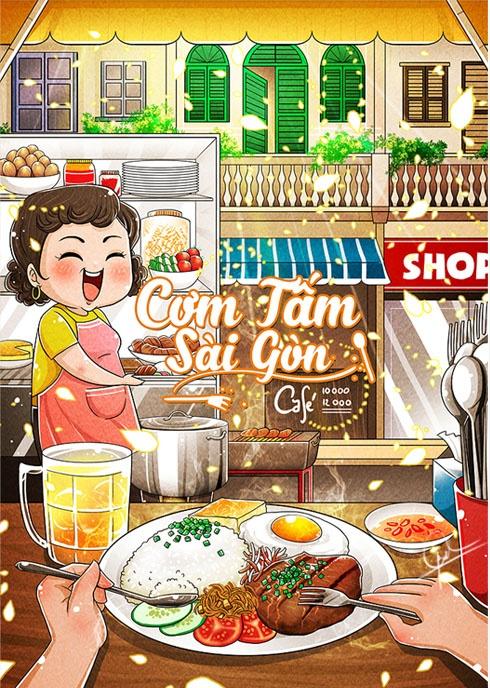 An choi Sai Gon dung dieu theo bo anh chibi hinh anh 8