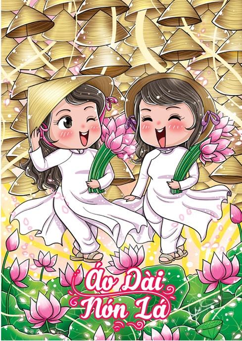 An choi Sai Gon dung dieu theo bo anh chibi hinh anh 11