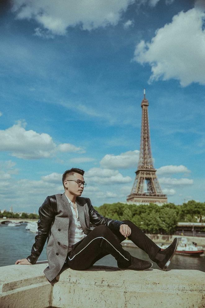 Pham Hong Phuoc bi thoi tiet 'tan do' o Paris hinh anh 1