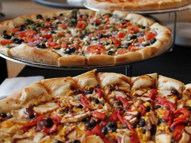 An pizza the nao de khong map? hinh anh 1