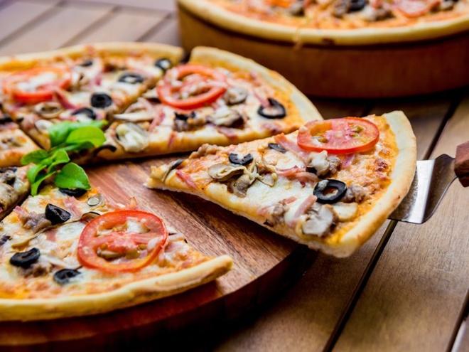 An pizza the nao de khong map? hinh anh