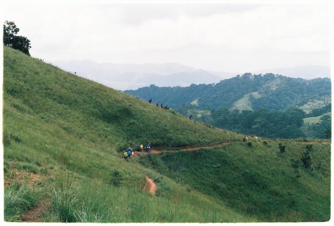 Cung trek dep nhat,  Lam Dong,  Binh Thuan,  an trua trong rung anh 5