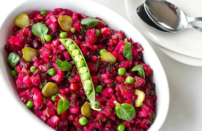 9 loai salad Nga de lam, ngon mieng va nhieu duong chat hinh anh