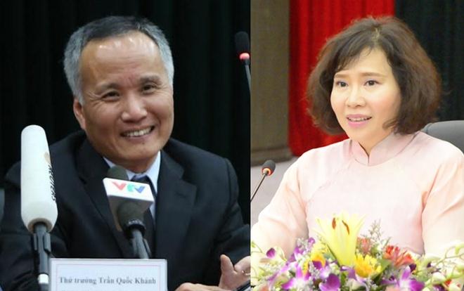 Thu tuong bo nhiem lai 4 thu truong Cong Thuong, Lao dong hinh anh 1