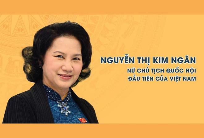 Infographic Chu tich Quoc hoi Nguyen Thi Kim Ngan hinh anh