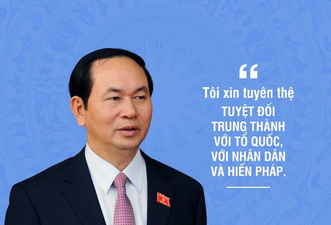 Infographic Chu tich nuoc Tran Dai Quang hinh anh