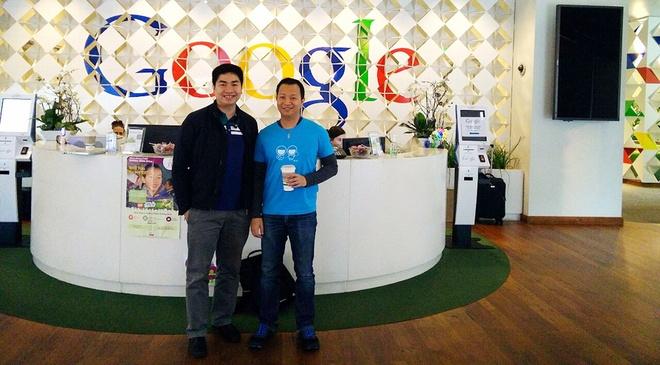 Chang trai Google qua loi ke cua cha hinh anh
