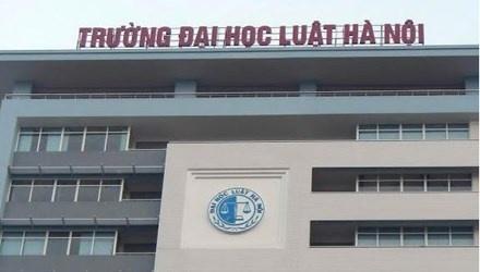 Luat su trung tuyen Hieu truong Dai hoc Luat Ha Noi hinh anh