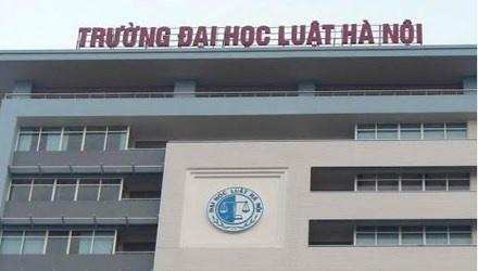 Xem xet lai viec thi tuyen Hieu truong Dai hoc Luat Ha Noi hinh anh 1