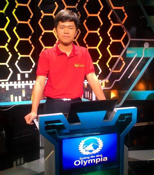 Nam sinh truong chuyen Le Hong Phong vao chung ket Olympia hinh anh 1