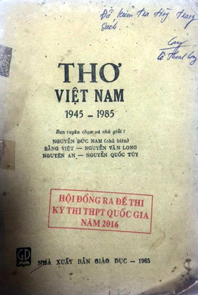 Bo GD&DT khang dinh de Van khong sai, khong lo de hinh anh 1
