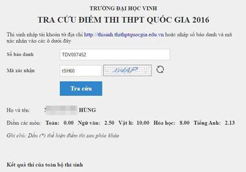 'Khong co can cu xac dinh thi sinh 10 diem Vat ly gian lan' hinh anh 1