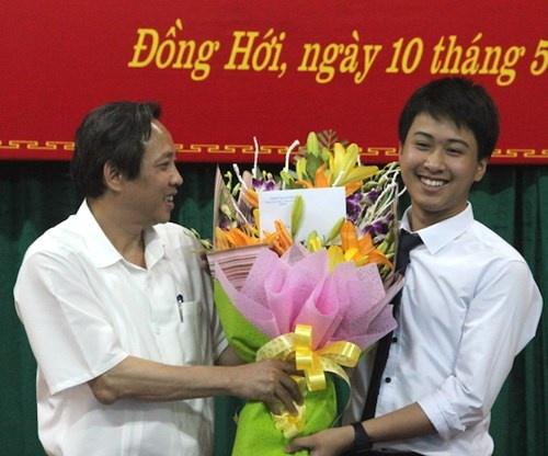 Hoc sinh Quang Binh gianh huy chuong vang Vat ly quoc te hinh anh 1