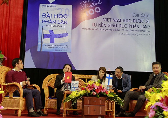 Hoc sinh Phan Lan choi nhieu, hoc it, khong ap luc thi cu hinh anh 2