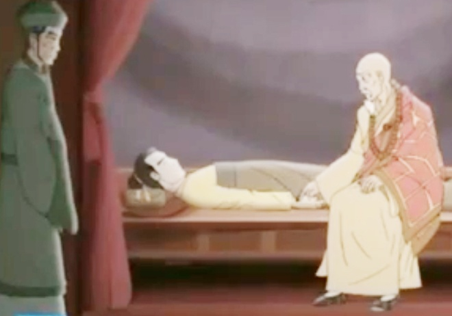 Chuyen thien su Minh Khong chua benh 'hoa ho' cho vua Ly hinh anh