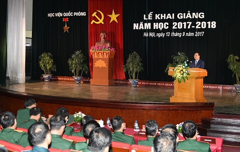 Hoc vien Quoc phong anh 1