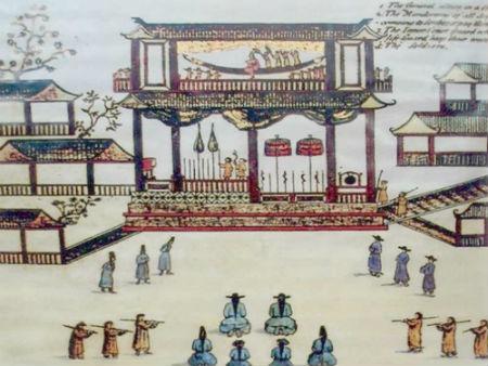 Ai 2 lan len ngoi, la vua dau tien lay vo phuong Tay? hinh