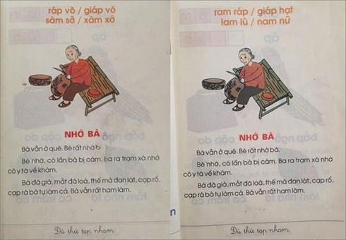 Hoc sinh duoc doi sach giao khoa Tieng Viet 1 Cong nghe giao duc hinh anh 2
