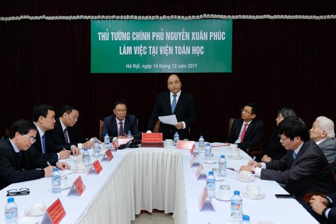 Thu tuong: Tao co che thuan loi nhat cho Vien Toan hoc Viet Nam hinh anh 2