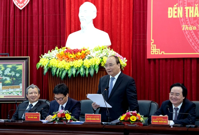 Thu tuong: Dai hoc Hue phai la mot trung tam doi moi hinh anh