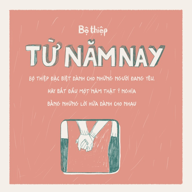 Ra mat bo thiep '#Tunamnay' cho nguoi dang yeu hinh anh 1