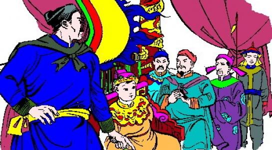 Vua nao xuong chieu xin loi nhan dan vi thoi an choi xa xi? hinh anh 6