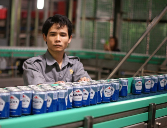 Bia uong khong say o Viet Nam duoc san xuat nhu the nao? hinh anh