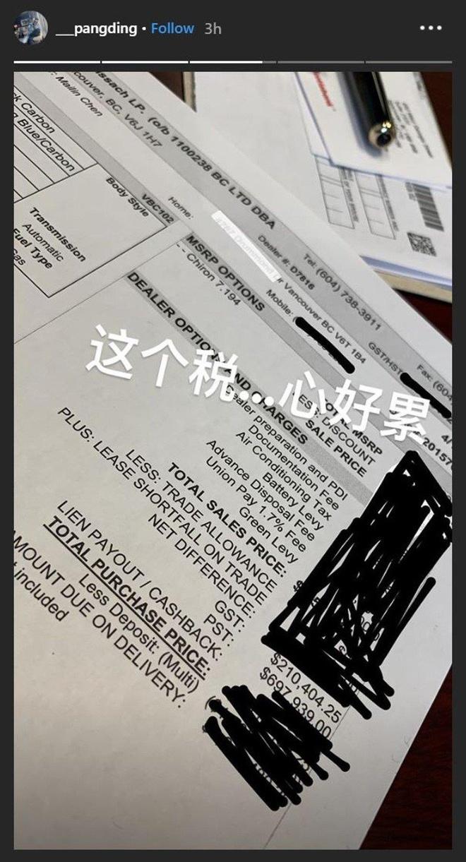 Con trai tai phiet Trung Quoc dot 3,8 trieu USD cua cha cho xe Bugatti hinh anh 1