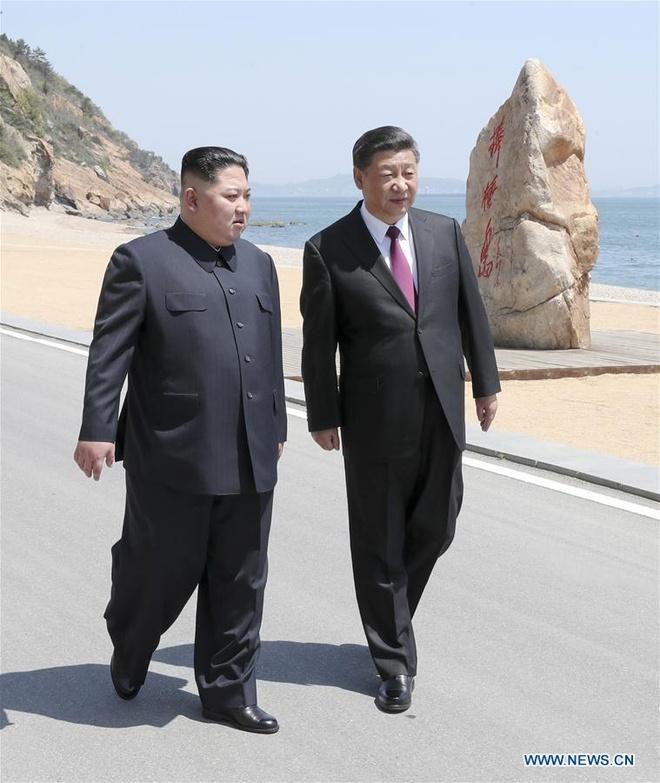 Ong Tap bat ngo don khach 'bi an' Kim Jong Un o Dai Lien hinh anh 3