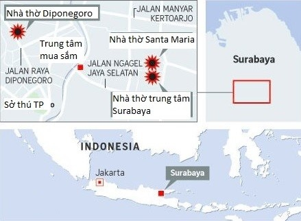 Khung bo o Indonesia: Ca gia dinh 6 nguoi danh bom tu sat hinh anh 2