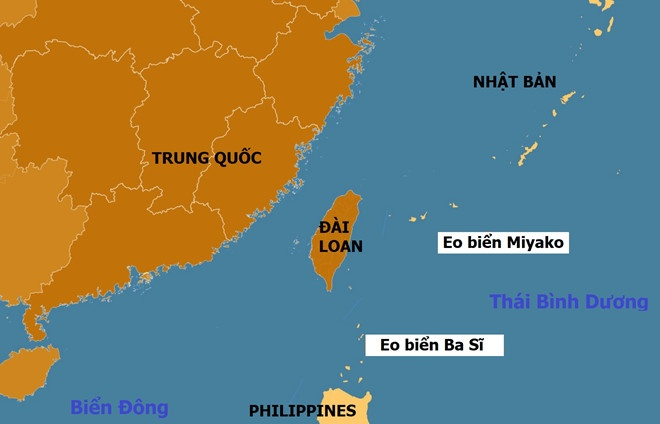 May bay nem bom Trung Quoc dien tap von quanh Dai Loan hinh anh 2