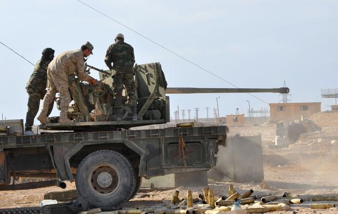 4 binh si Nga thiet mang trong vu phao kich o Syria hinh anh 1