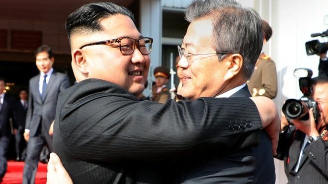 Tong thong Han Quoc co the den Singapore du cuoc gap Trump - Kim hinh anh