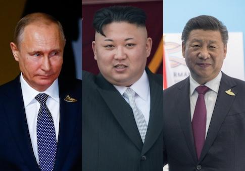 Ro tin Kim den TQ gap Tap, Putin truoc thuong dinh My - Trieu hinh anh