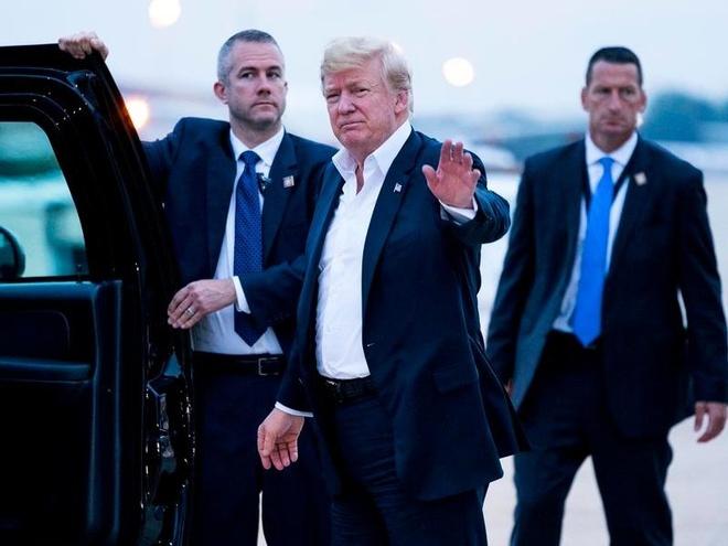 Trump ve den My, khang dinh Trieu Tien khong con la moi lo hat nhan hinh anh