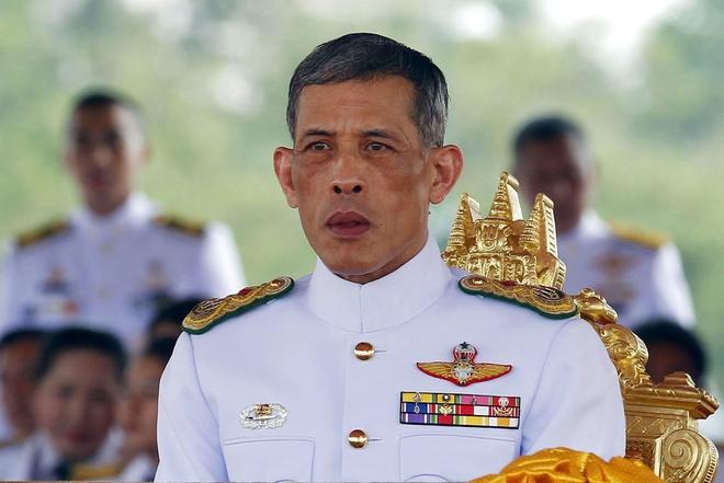 vua Thai Lan nhan tai san anh 1
