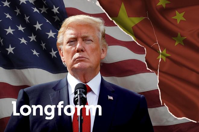 Tong thong Trump va 'chuyen tau luon' chien tranh thuong mai hinh anh