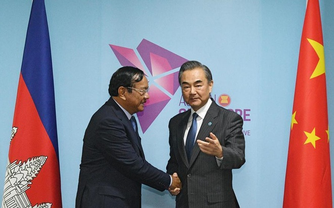 Vuong Nghi: Trung Quoc la ban than nhat cua Campuchia hinh anh 1