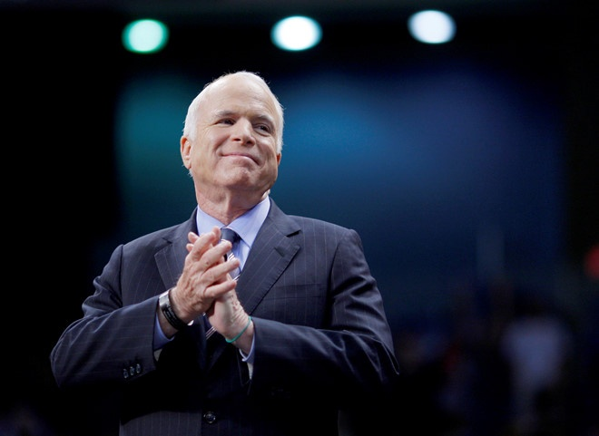 Thuong nghi si John McCain tu bo viec dieu tri ung thu hinh anh