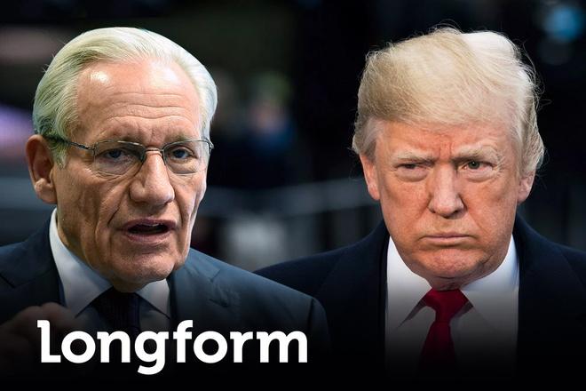 Huyen thoai Bob Woodward tai xuat, doi dau Tong thong Trump hinh anh