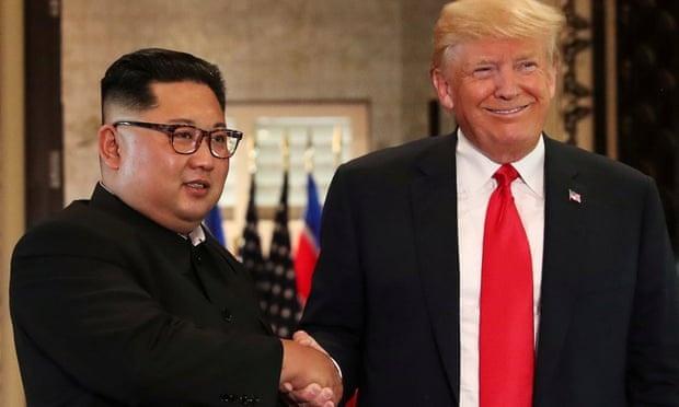 Trump gap Kim Jong Un anh 1