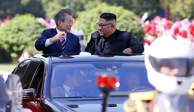 Truyen thong Han Quoc to mo ve 'ngoai giao xe' cua Trieu Tien hinh anh