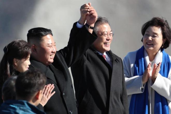Ong Kim Jong Un co the den Han Quoc vao thang 12 hinh anh