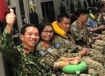 C-17 roi TP.HCM, dua chien si Viet Nam lam nhiem vu gin giu hoa binh hinh anh