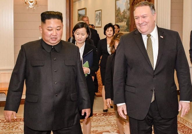 Kim Jong Un, Pompeo dong y to chuc thuong dinh lan 2 'som nhat co the' hinh anh 1