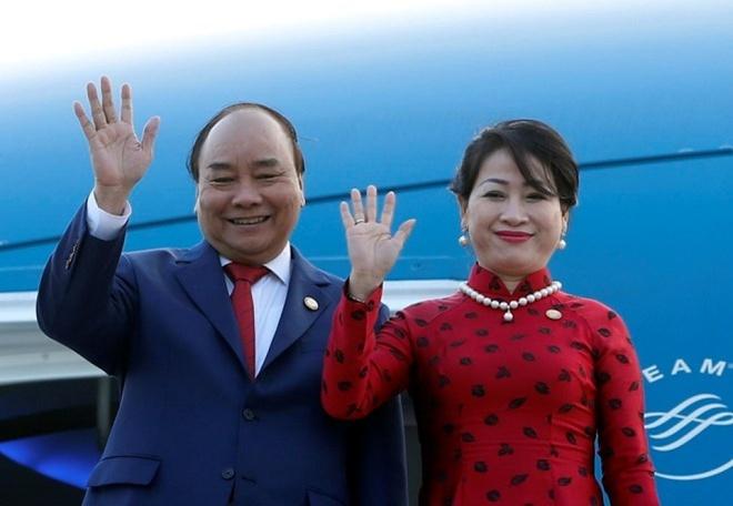 Thu tuong len duong du Hoi nghi Mekong – Nhat Ban hinh anh