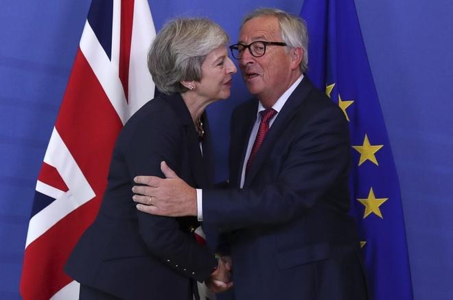 Anh, EU muon cho Brexit them thoi gian sau thuong dinh 'tay trang' hinh anh 1
