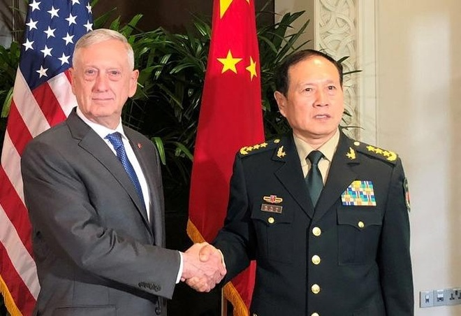 Ong Mattis tim cach xoa diu cang thang quan su voi Trung Quoc hinh anh