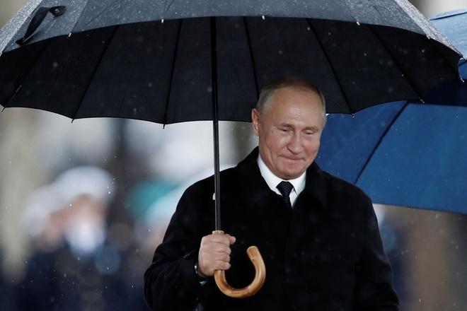 TT Trump, Putin va cac lanh dao the gioi doi mua ky niem The chien 1 hinh anh